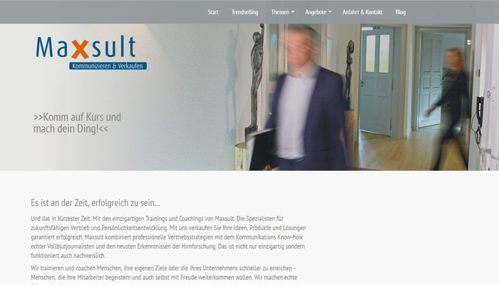 Maxsult Website