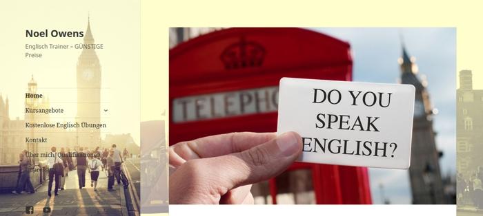 Englischunterricht Text und Wert