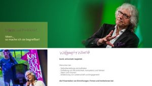Wolfgang Weinrich -Website