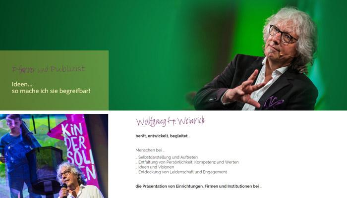 Wolfgang Weinrich -Website