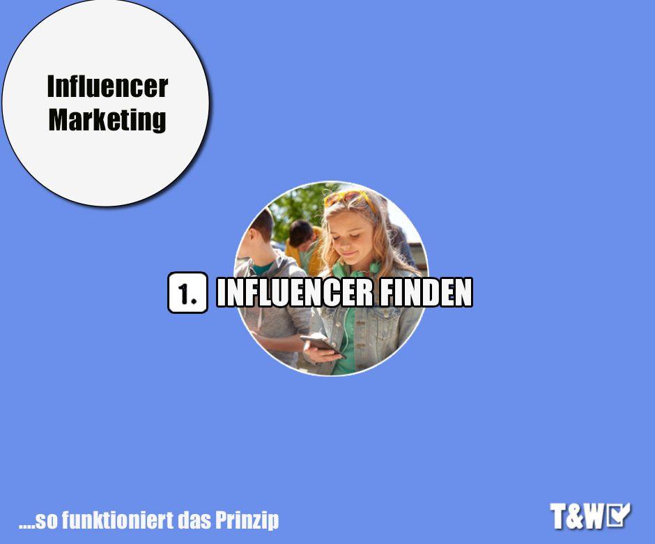 Den richtigen Influencer finden
