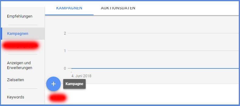 Online Kampagne mit Google AdWords