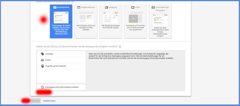 Werben im Google Suchnetzwerk