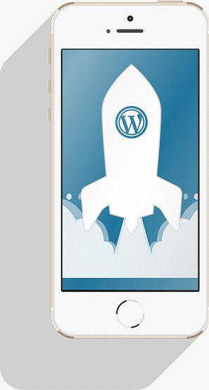 wordpress smartphone
