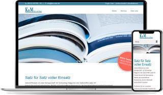 K&M Referenz Website